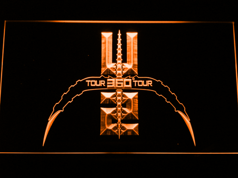 U2 360 Tour LED Neon Sign