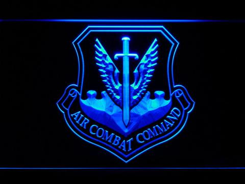 US Air Force Air Combat Command LED Neon Sign