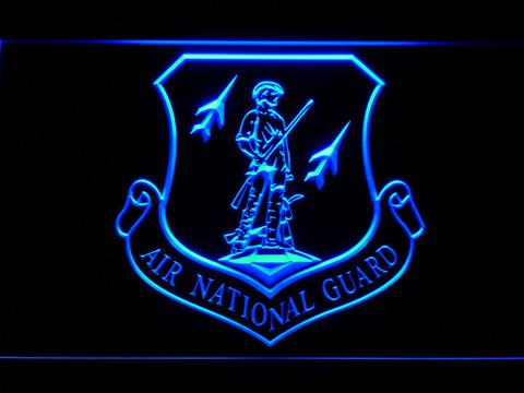 US Air Force Air National Guard Emblem LED Neon Sign