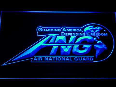 US Air Force Air National Guard Initials LED Neon Sign