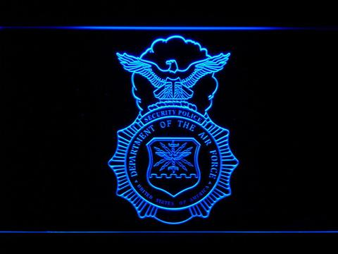 US Air Force Security Forces LED Neon Sign