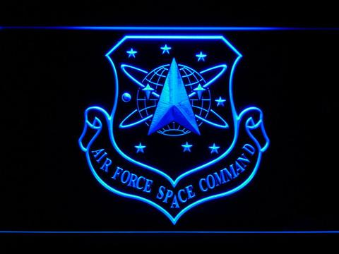US Air Force Space Command LED Neon Sign