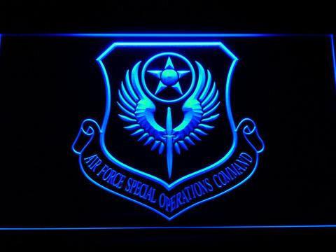 US Air Force Special Operations Command LED Neon Sign