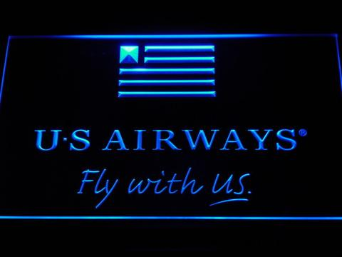 US Airways Fly With US LED Neon Sign
