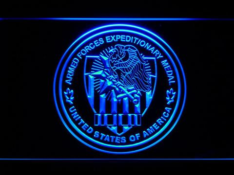 US Armed Forces Expeditionary Medal LED Neon Sign
