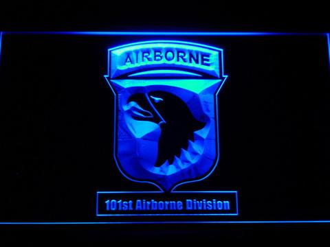 US Army 101st Airborne Division LED Neon Sign