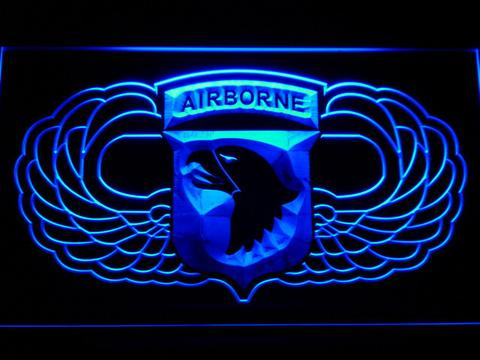 US Army 101st Airborne Division Wings LED Neon Sign