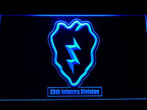 US Army 25th Infantry Division LED Neon Sign