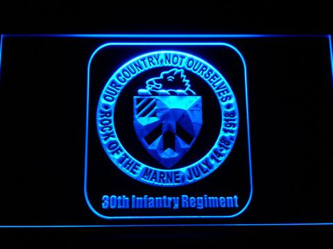 US Army 30th Infantry Regiment LED Neon Sign
