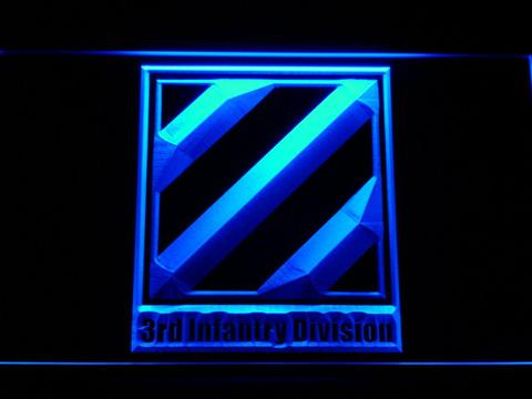 US Army 3rd Third Infantry Division LED Neon Sign