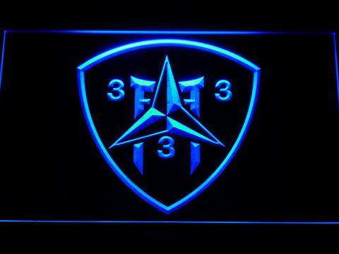 US Marine Corps 3rd Battalion 3rd Marines LED Neon Sign