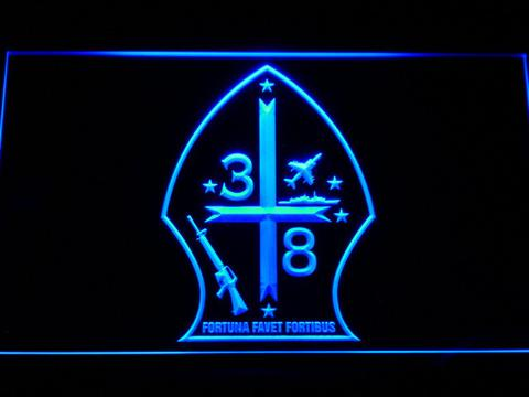 US Marine Corps 3rd Battalion 8th Marines LED Neon Sign
