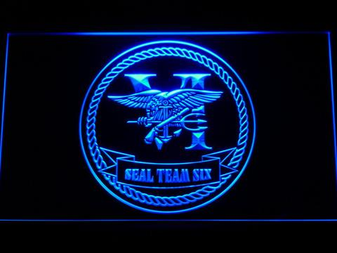 US Navy SEAL Team 6 Serif LED Neon Sign