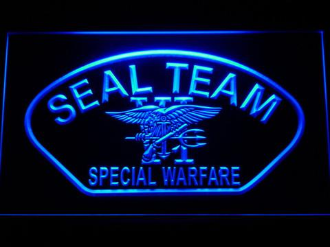 US Navy SEAL Team 6 Shell LED Neon Sign