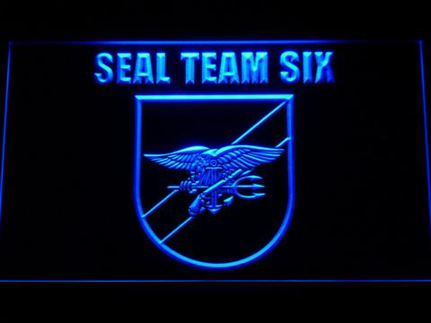 US Navy SEAL Team 6 Shield LED Neon Sign