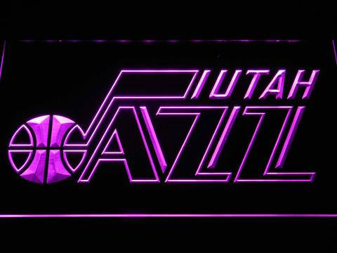 Utah Jazz Badge LED Neon Sign