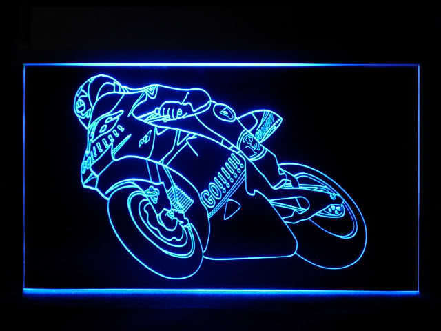 Valentino Rossi LED Light Sign