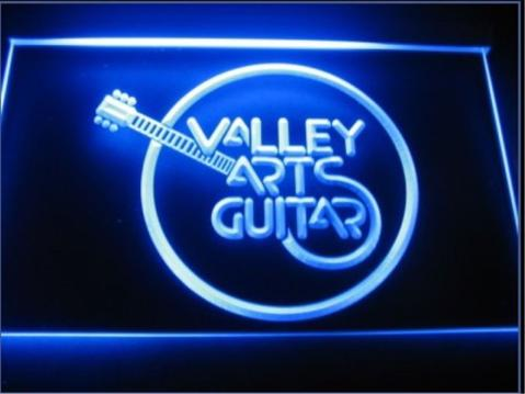 Valley Arts Guitar LED neon Sign