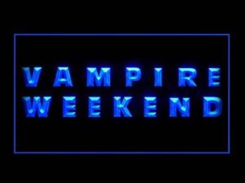 Vampire Weekend LED Neon Sign