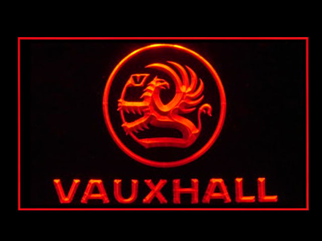 Vauxhall Motors LED Light Sign