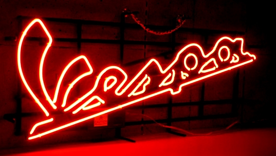 Vespa Scooter Moped Classic Neon Light Sign 20 x 10