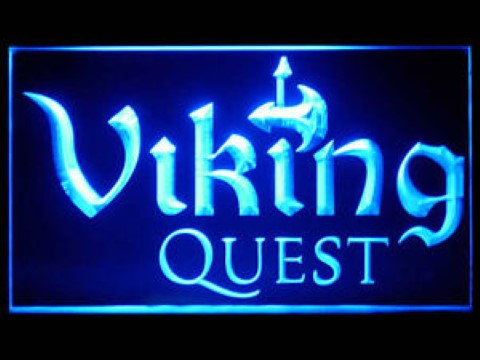 Viking Quest LED Neon Sign