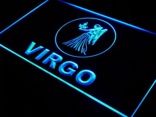 Virgo Zodiac LED Light Sign