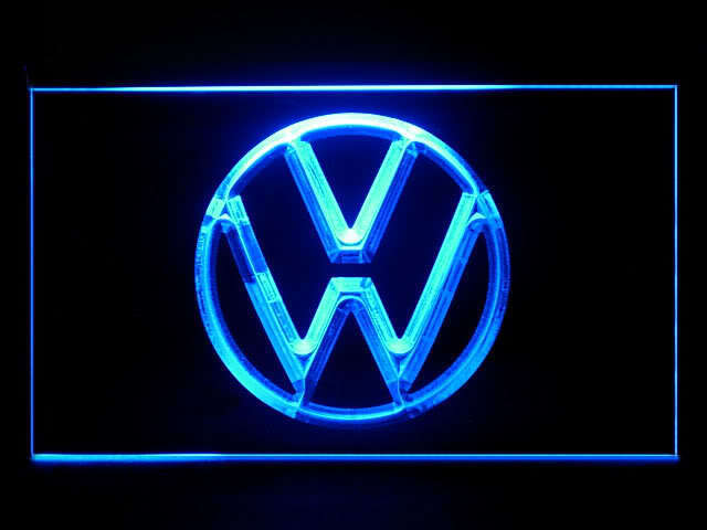 Volkwagen VW LED Light Sign