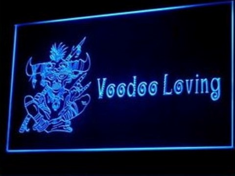 Voodoo Loving LED Neon Sign