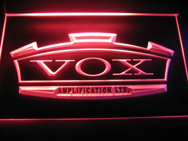 Vox Amplification Ltd Logo Beer Bar Pub Store Light Sign