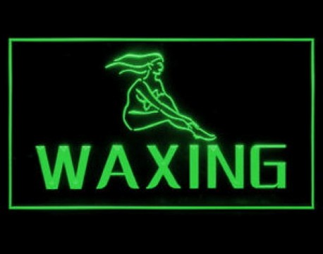 WAXING Women Salon Beauty LED Neon Sign
