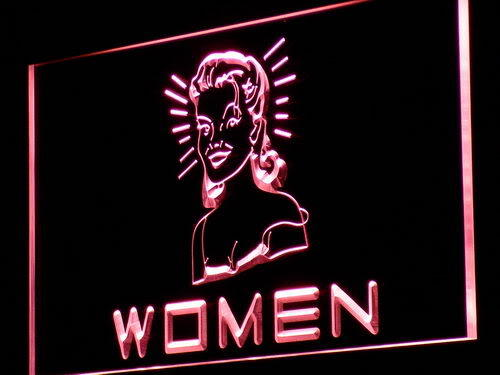 WOMEN Toilet Vintage Display Neon Light Sign