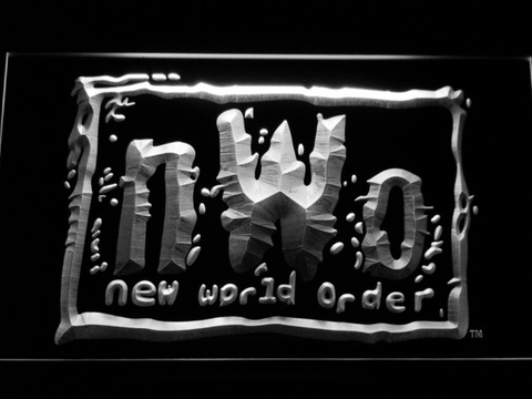 WWF New World Order LED Neon Sign