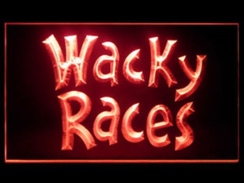 Wacky Races LED Neon Sign