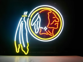 Washington Redskins Classic Neon Light Sign 17 x 14