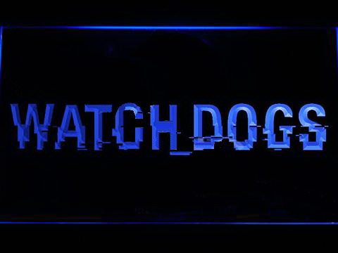 Watch Dogs LED Neon Sign
