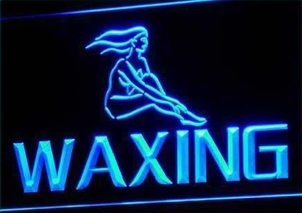 Waxing Neon Light Sign