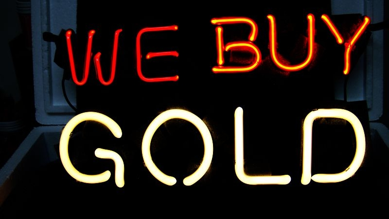 We Buy Gold Business Shop Neon Light Sign 16 x 12