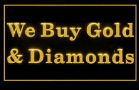 We Buy Gold and Diamonds LED Neon Sign [We Buy Gold and
