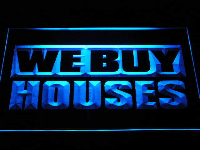 We Buy Houses Agency Shop Neon Light Sign