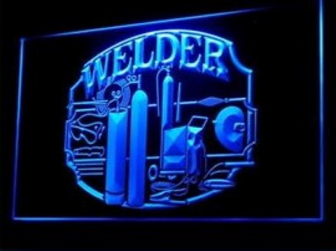 Welder LED Neon Sign