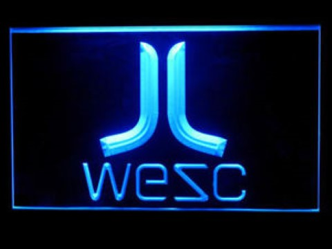 Wesc LED Neon Sign