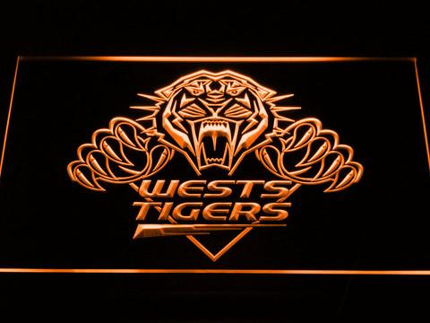 Wests Tigers LED Neon Sign