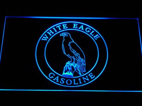 White Eagle Gasoline LED Neon Sign