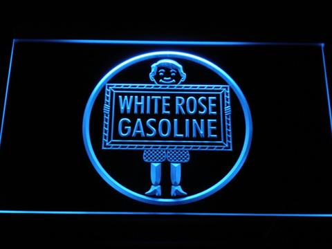 White Rose Gasoline - En-Ar-Co Boy LED Neon Sign