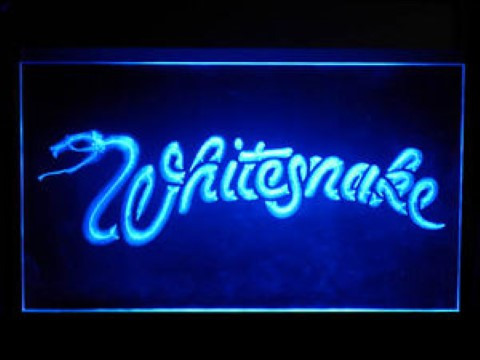Whitesnake LED Neon Sign