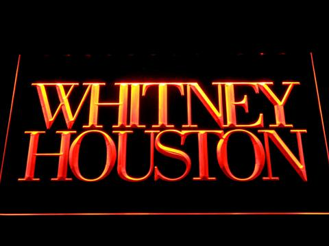 Whitney Houston LED Neon Sign