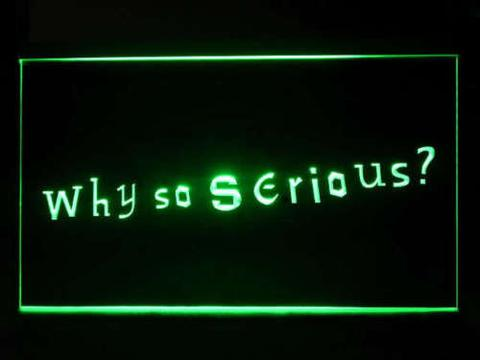 Why so serious Joker LED Neon Sign