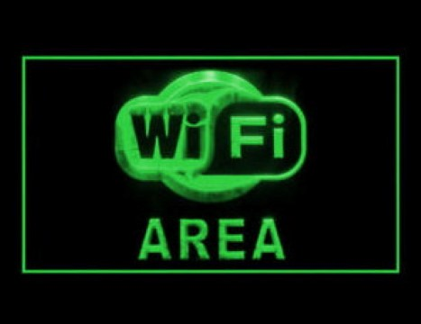 Wi-Fi Area LED Neon Sign