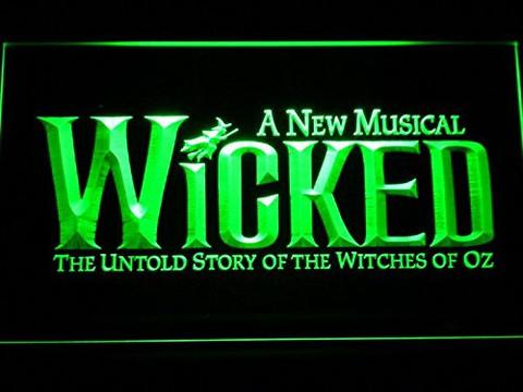 Wicked The Musical Bar LED Neon Sign